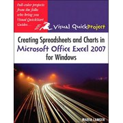 Creating Spreadsheets and Charts in Microsoft Office Excel 2007 for Windows - eBook