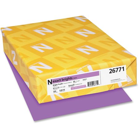 Exact, WAU26771, Brights Color Paper, 500 / Pack, Bright - Purple Paper