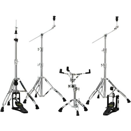 800 Series Hardware Pack (Mapex Armory 800 Series Hardware Pack W/P800 Single Pedal - Chrome)