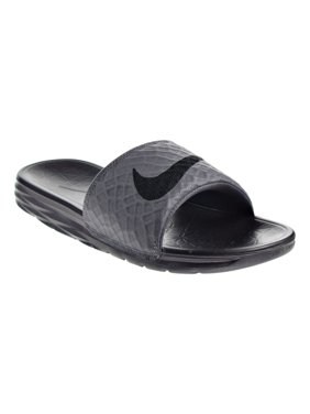 Free shipping. Product Image. Nike Benassi Solarsoft Men s Sandal Grey Black  705474-090 (7 D(M a502315f5