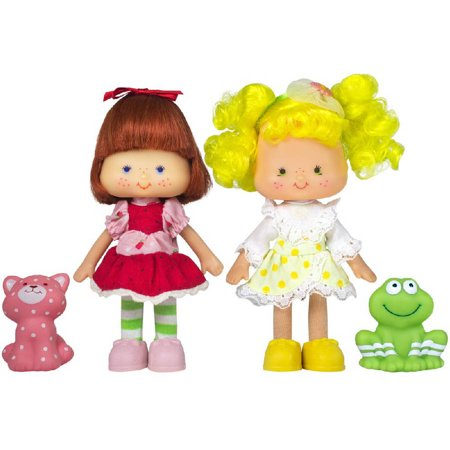Strawberry Shortcake and Lemon Meringue Doll Set
