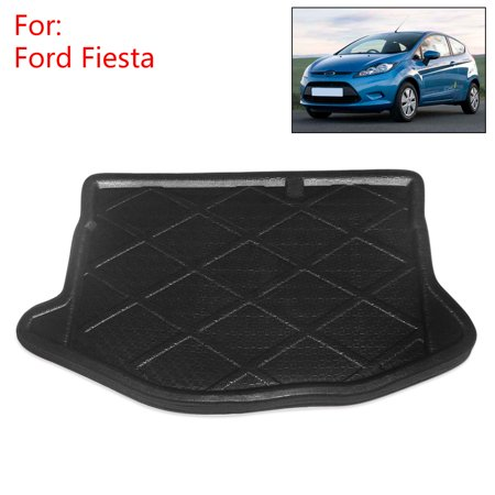 Rear Trunk Cargo Floor Mat Liner For Ford Fiesta 11 12 14