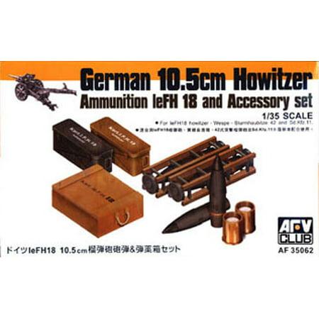 1/35 German 10.5cm Howitzer Ammo & Accessory Set