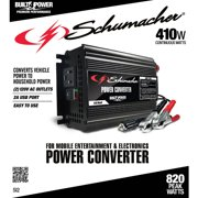 Schumacher Electric 410W Power Converter / Inverter