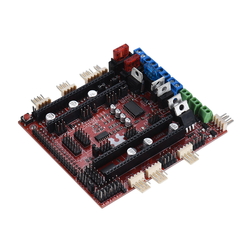 3D Printer Motherboard RAMPS-FD Shield Ramps 1.4 Control Board Compatible for Arduino Due 3D Printer Controller