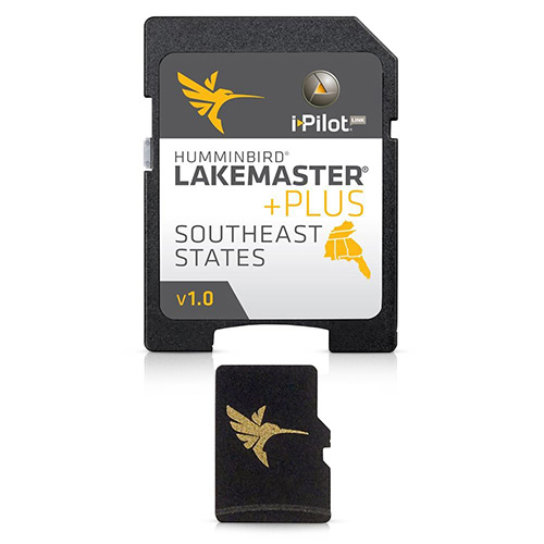 Humminbird LakeMaster PLUS Southeast States GPS Maps v2.0 600023-5 with i-Pilot Compatibility by Humminbird