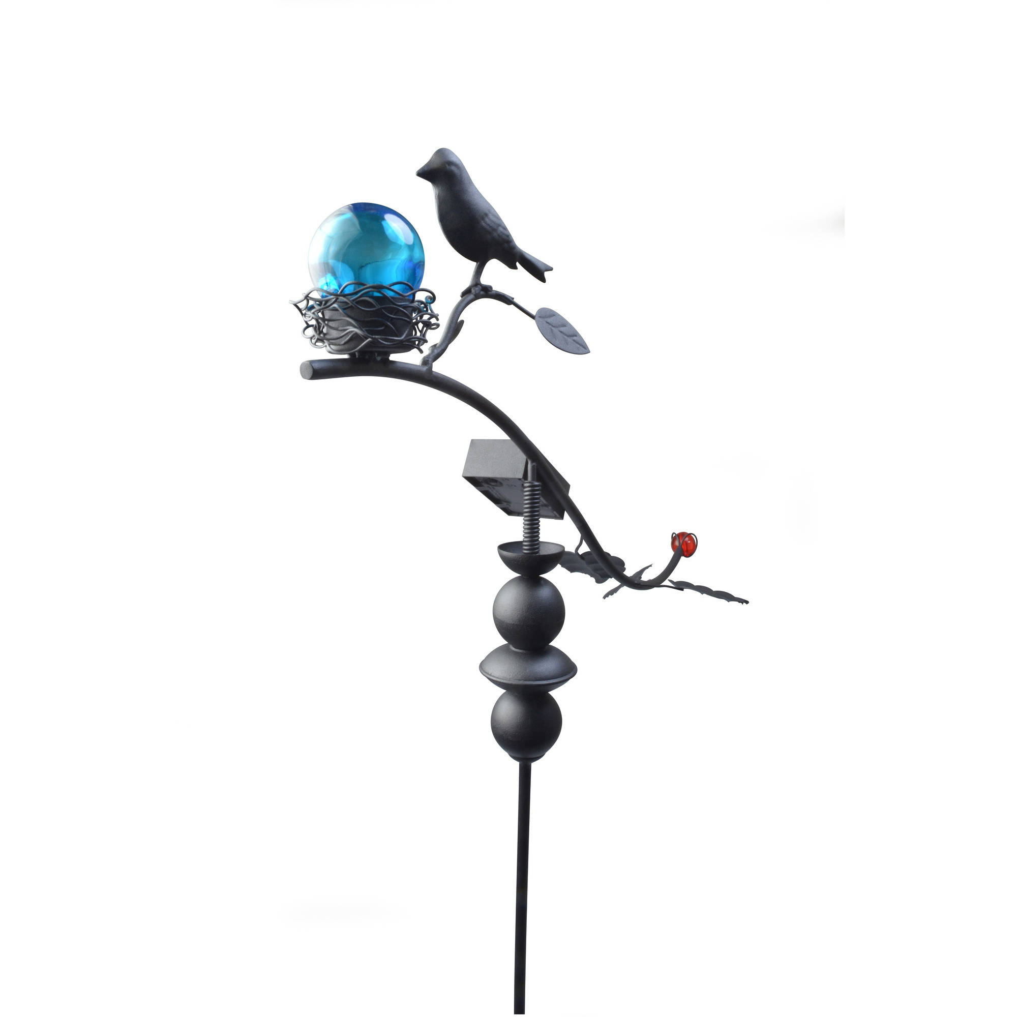 Moonrays 92549 Solar Powered Garden Dancing Bird Led Stake