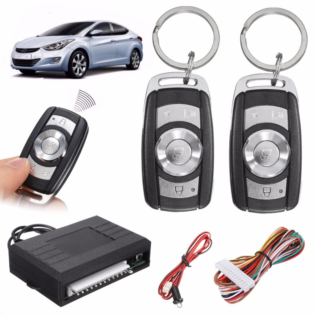 Universal Car Remote Control Central Kit Door Lock Keyless Entry System