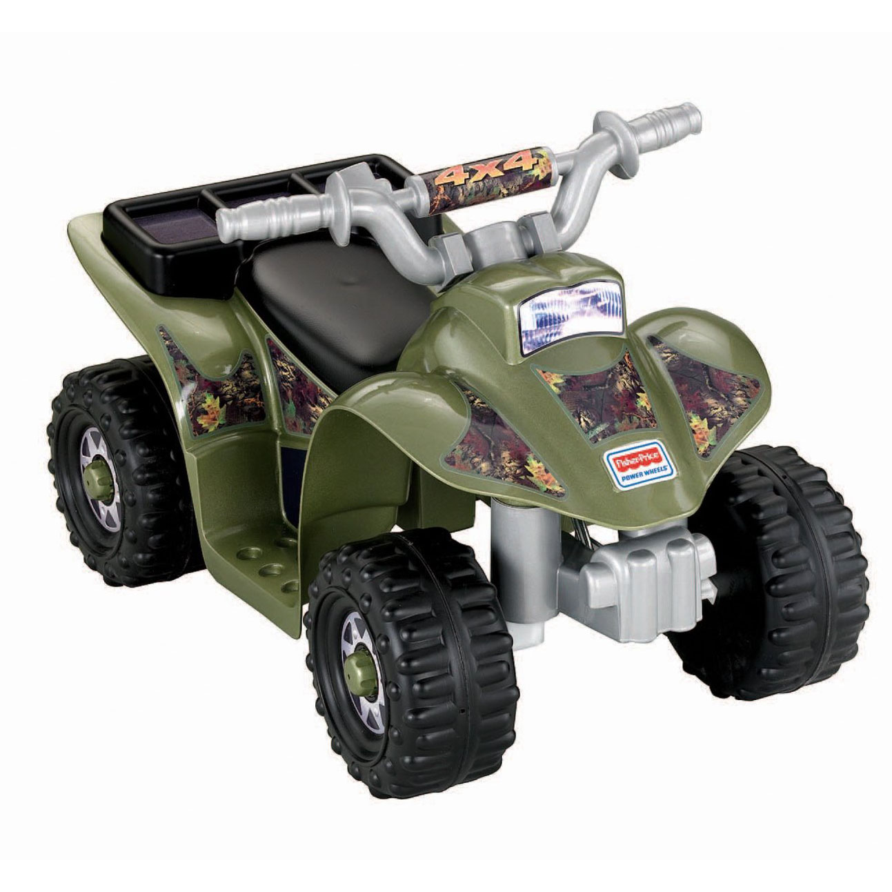 Fisher Price Power Wheels Lil' Quad 6V ATV Ride-On - Camo...