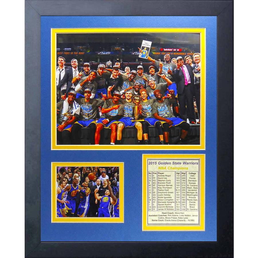 "NBA Golden State Warriors Legends Never Die Framed Photo Collage, Podium, 11"" x 14"""