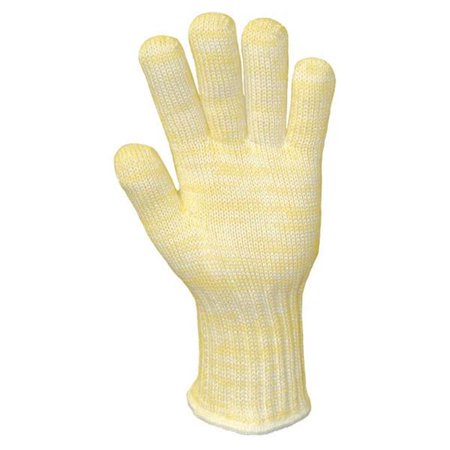 Wells Lamont 815-2610XL Kevlar & Nomex Seamless Yellow & White Gloves - Extra Large, Pack of 12 ()