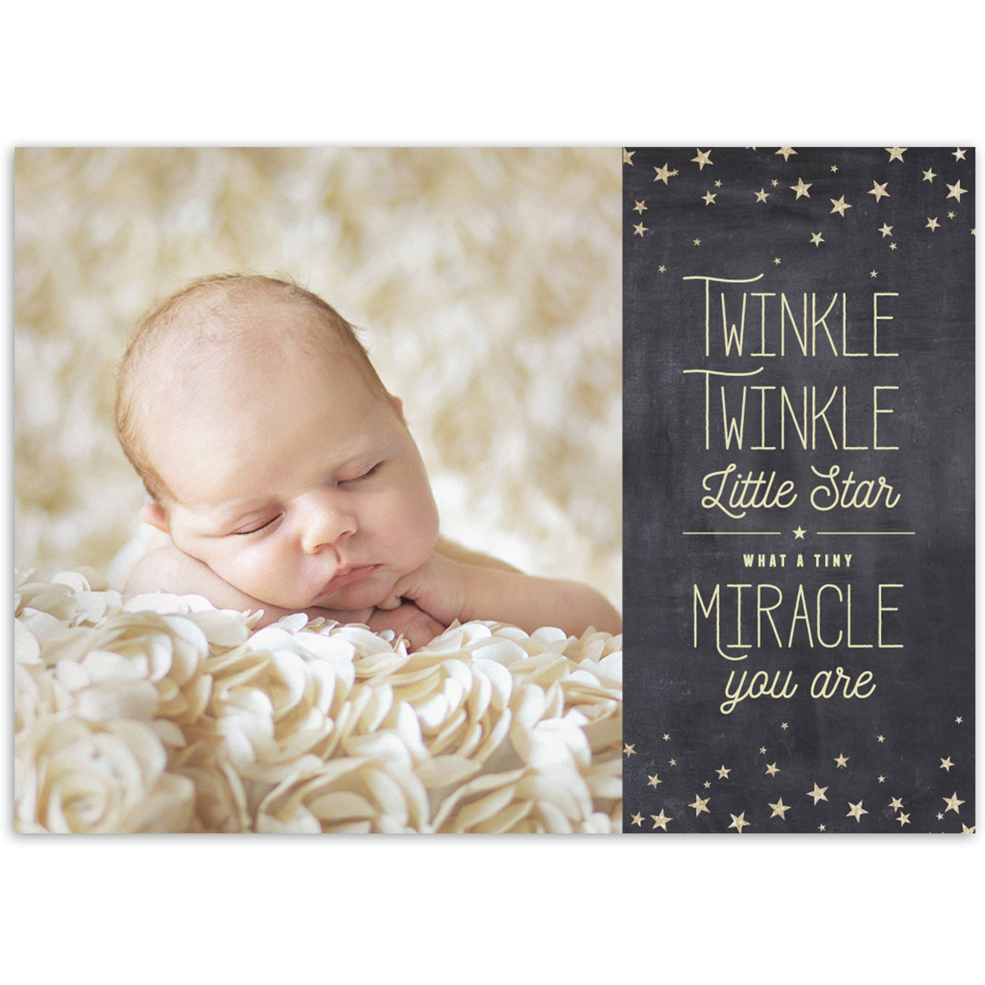 Twinkle Twinkle Baby Announcement