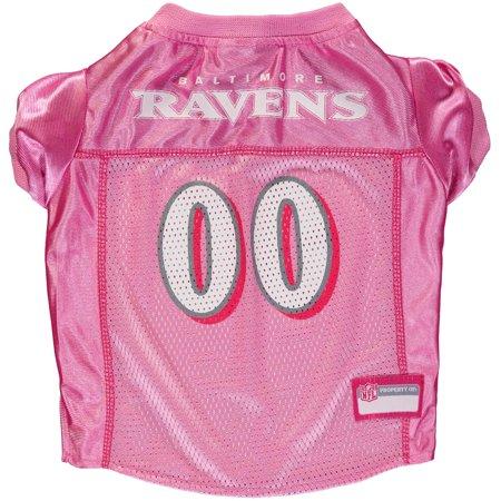 Baltimore Ravens Mesh Dog Jersey - Pink
