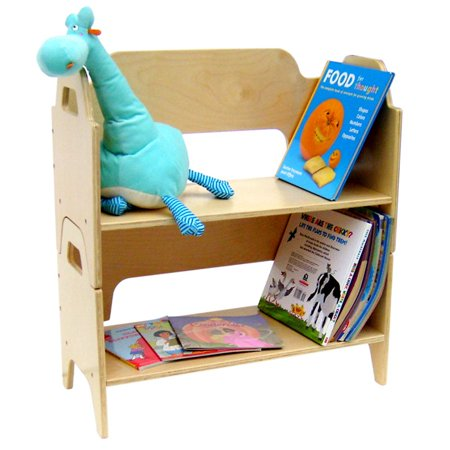 A Child Supply Two Deck Bookshelf