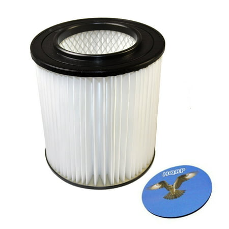 """HQRP 7"""" Filter for Vroom FC25, FC35C, FC55, FC65, FC65C H-P Central Vacuum Systems, 8106-01 Replacement + HQRP Coaster - image 4 de 4"""