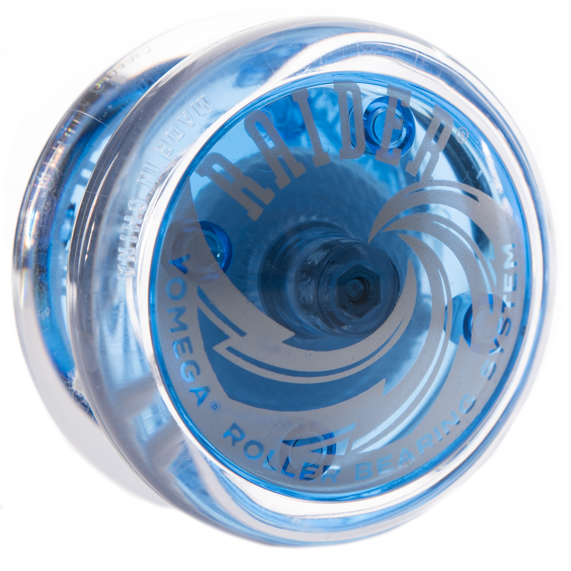 Raider Blue and Clear Yo Yo By Yomega