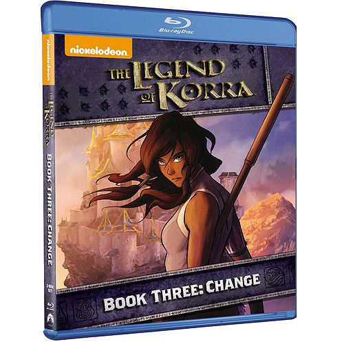 The Legend Of Korra: Book Three: Change (Blu-ray)