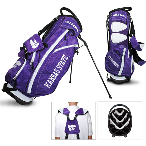 Team Golf NCAA Kansas State Fairway Golf Stand Bag