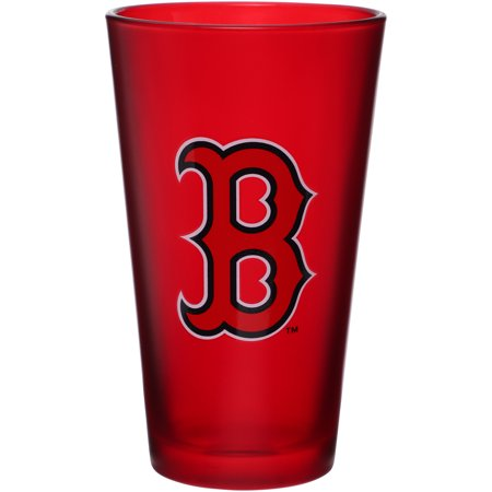 Boston Red Sox Ring Ceremony (Boston Red Sox 16 oz. Team Color Frosted Pint Glass - No)