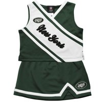 New York Jets Preschool Girls 2-Piece Cheerleader Set - Green
