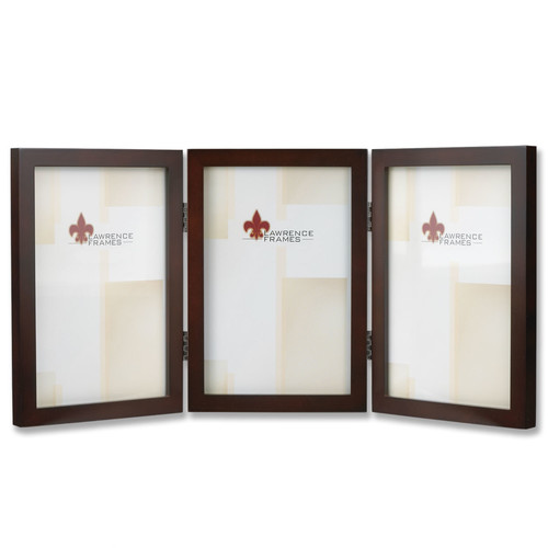 Lawrence Frames Hinged Triple Picture Frame