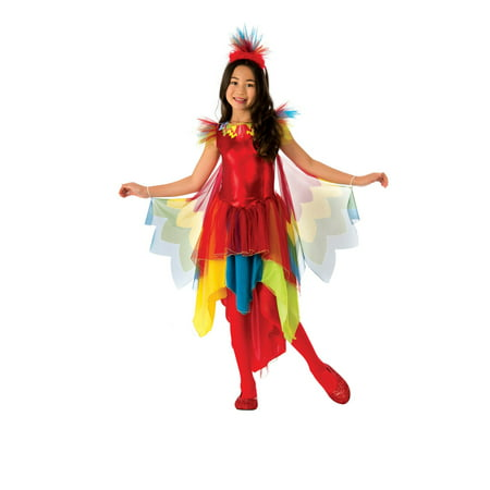 Girls Parrot Costume - Parrot Costumes For Adults