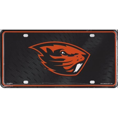 Oregon Pate Board - Oregon State Beavers Metal License Plate