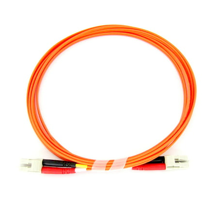 Fiber Optic Cable - Multimode Duplex 62.5/125 - LSZH - LC/LC - 3 Meter 3 Meter Masking Film