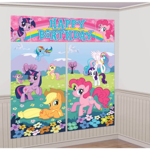 My Little Pony Scene Setter, Room Decoration, Party Supplies