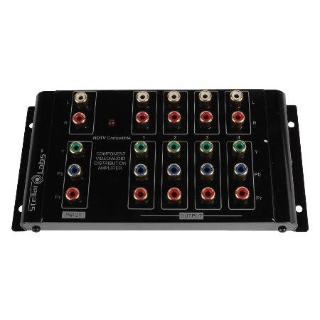 1x4 Component Video Distribution Amplifier / - 1x6 Digital Distribution Amplifier