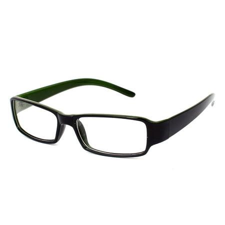 Men Women Plastic Full Rim Eyewear Spectacles Optical Plain Plano Glasses