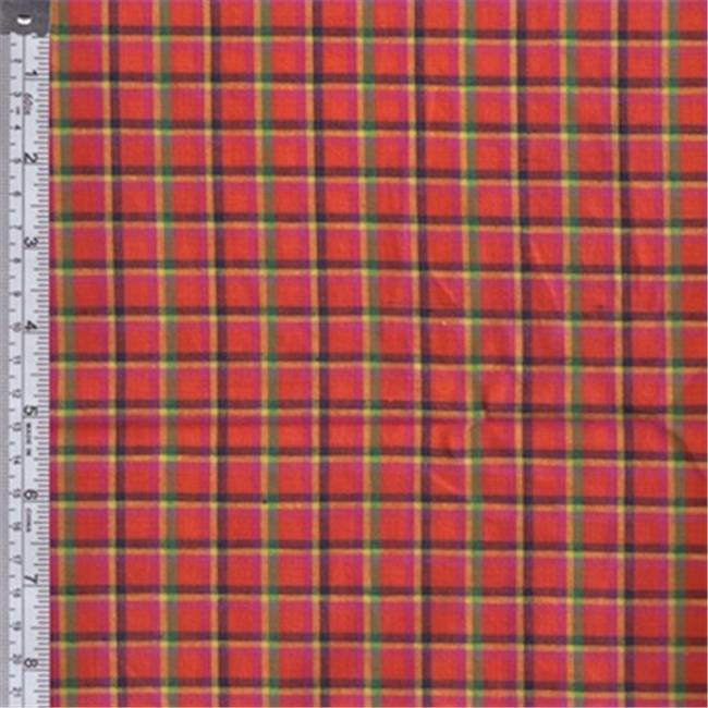 Textile Creations RW0119 Rustic Woven Fabric, Assorted, 15 yd.