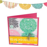 Sizzix Textured Impressions Embossing Folders 3/Pkg-Day Of The Dead