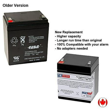 casil genuine ca1240 12v 4ah sla alarm battery. Black Bedroom Furniture Sets. Home Design Ideas