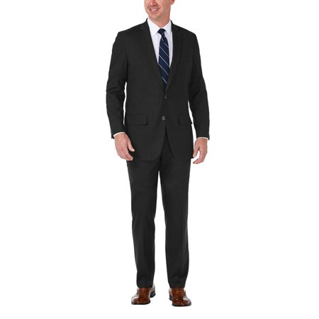 Men's J.M. Haggar Premium Tailored-Fit Stretch Suit Jacket Black