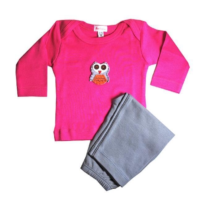 Loralin Design Owl Outfit - 3-6