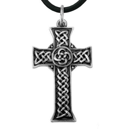 Solid Pewter Celtic Knot (Pewter Celtic Cross Infinity Knot)