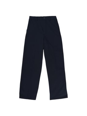 French Toast Husky Boys School Uniform Pull-On Relaxed Fit Pants (Husky)