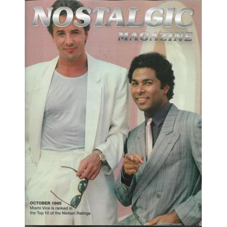 - Nostalgic Magazine: Miami Vice (Don Johnson & Phillip Michael Thomas), Oct. 2018