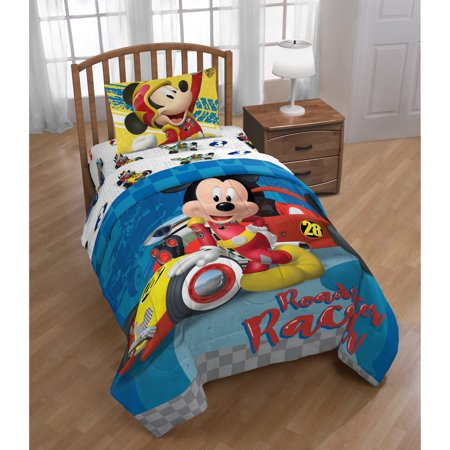 Mickey Mouse Clubhouse Roadster Racer Reversible Twin Comforter Charter Club Vail Comforter