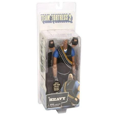 "Team Fortress 2 Series 2 7"" Action Figure The Heavy Blue - image 3 de 3"