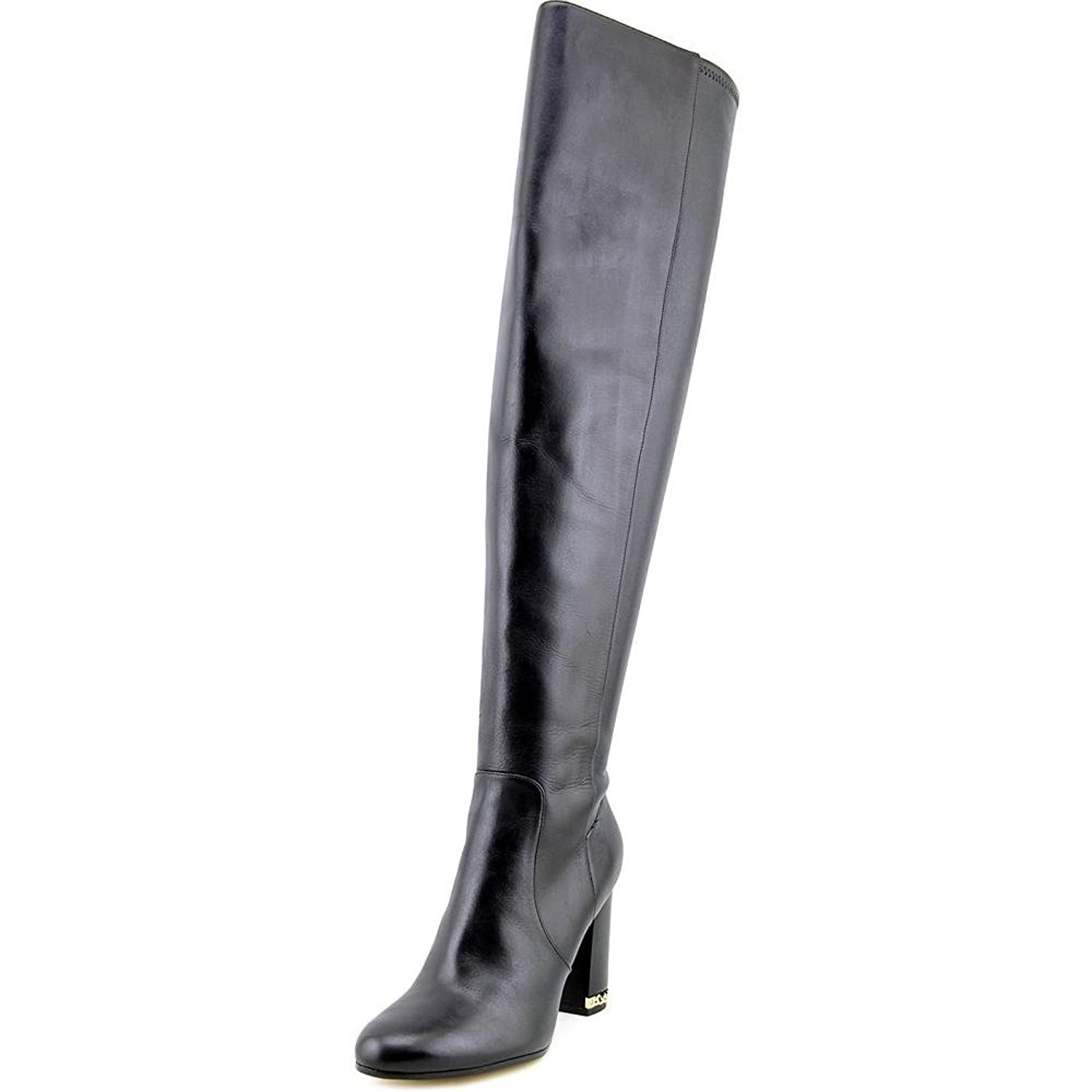 Michael Kors Womens Sabrina Leather Closed Toe Over Knee Fashion Boot...