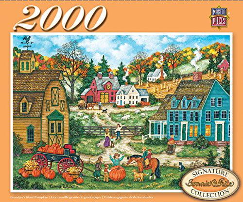 MasterPieces Signature Series Grandpa's Giant Pumpkin Jigsaw Puzzle, 2000-Piece - image 1 de 1