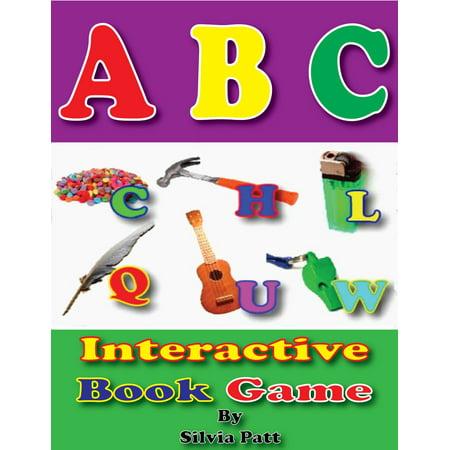 ABC Interactive Book Game - eBook - Halloween Interactive Games Kindergarten