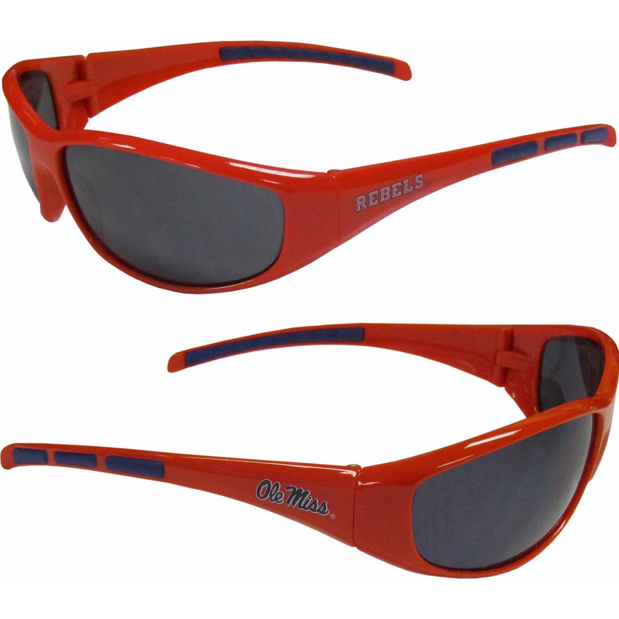 NCAA Ole Miss Wrap Sunglasses