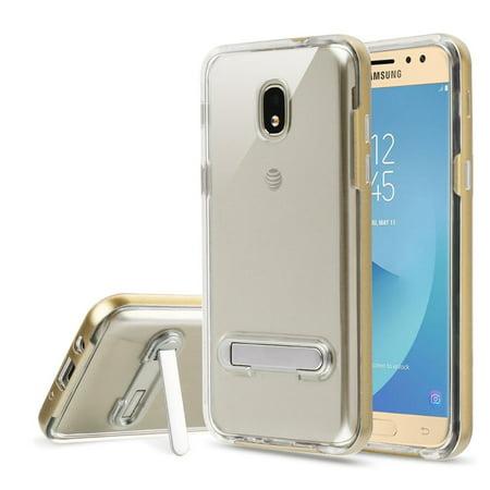 Samsung Galaxy J7 2018 case J7 Refine case J7 V 2nd generation case by Insten Hard Plastic/Soft TPU Rubber Case Cover For Samsung Galaxy J7 (2018)/J7 Refine/J7 V 2nd Gen - 2nd Generation Cover