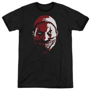 American Horror Story The Clown Mens Adult Heather Ringer Shirt