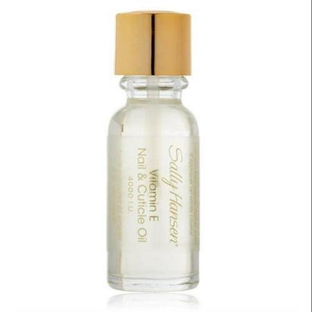 Sally Hansen Vitamin E Nail and Cuticle Oil, 0.45 Fluid Ounce []