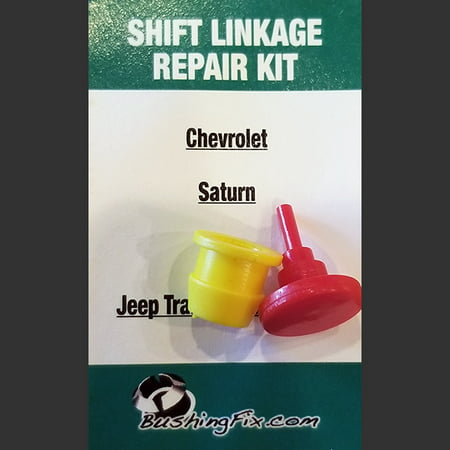 Jeep Liberty Transfer Case 4x4 Manual cable repair kit with replacement Bushing Shift Cable Bushing Kit