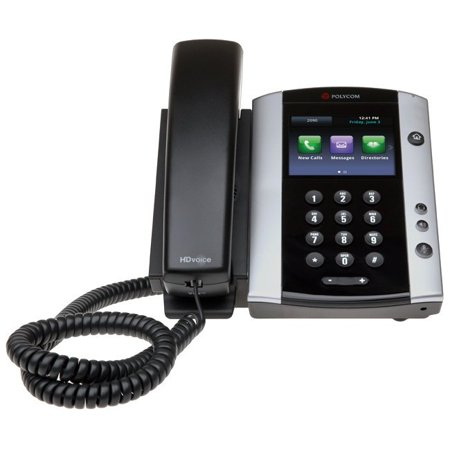 Polycom VVX 501 IP Phone - Cable - Wall Mountable, Desktop - 12 x Total Line - VoIP - Speakerphone - 2 x Network (RJ-45) - USB - PoE Ports